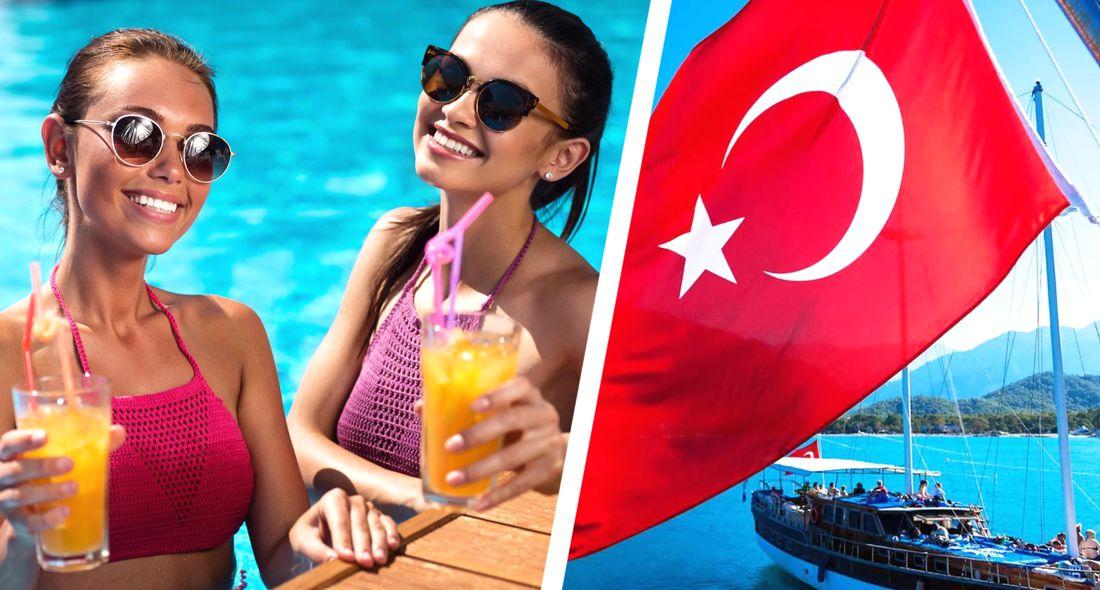 Прекрасная Елена отдыхает в Турции